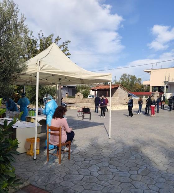 Κορονοϊός : Όλα αρνητικά τα rapid tests στον Ορχομενό