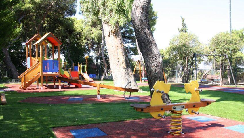 Ολοκληρώθηκε η κατασκευή των παιδικών χαρών στην έδρα και στις Τ.Κ. του Δήμου Ορχομενού(φωτο)
